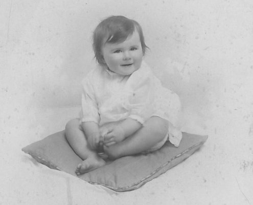 Mum as a baby