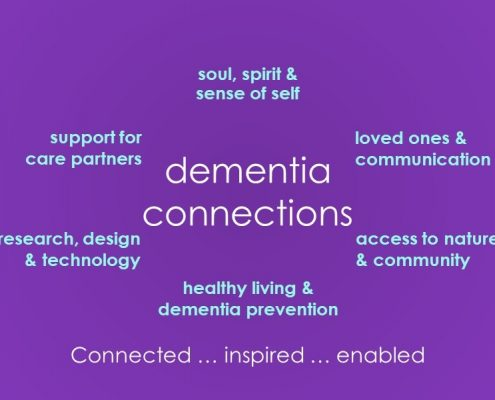 There are many ways for a person with dementia to stay connected